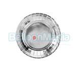 Farfurii argintii 18 cm 6/set TPP35-018ME