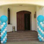 Coloana clasica cu balon jumbo CLAS3