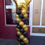 Coloana clasica cu balon folie CLAS4