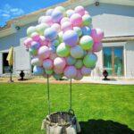 Cos cu baloane A13