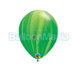 Baloane latex, superagate verzi 91539.05