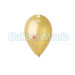 Balon latex metalizat auriu dorato, 26 cm GM90.74